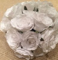 Flower - White Rose Ball